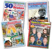 Patriotic and Educational Coloring Books and Novels