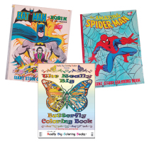 Vintage Coloring Books