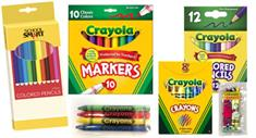 Crayon Products for Your Coloring Books