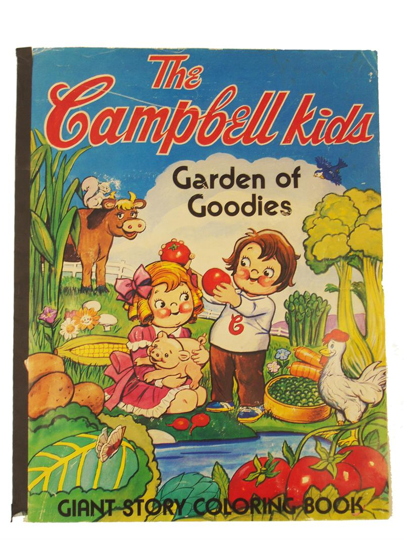 Coloring Books | Vintage The Campbell Kids