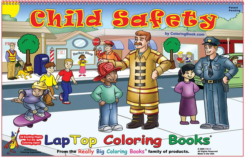 Child Safety Laptop Coloring Books Coloring Books