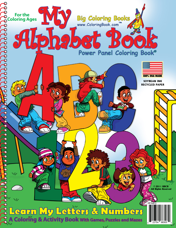 My Alphabet Book Abc 123 Coloring Books