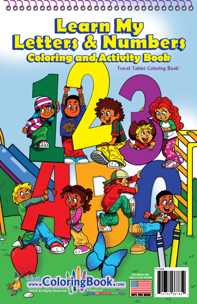 123-ABC My Alphabet Travel Tablet - Coloring Books