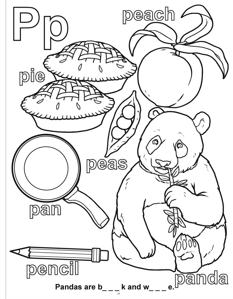 ABC 123 Learn My Letter And Numbers Really Big Coloring Book