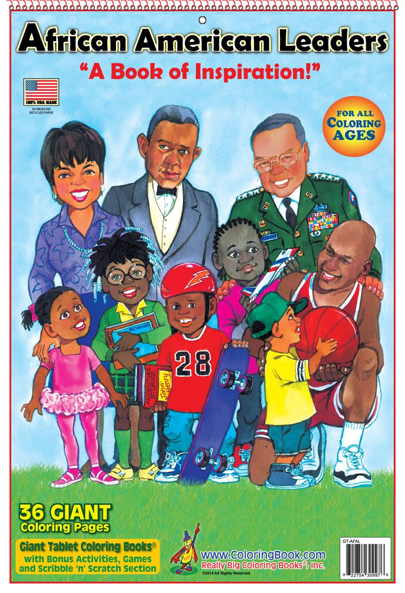 african american leaders giant tablet coloring book - Giant Coloring Book