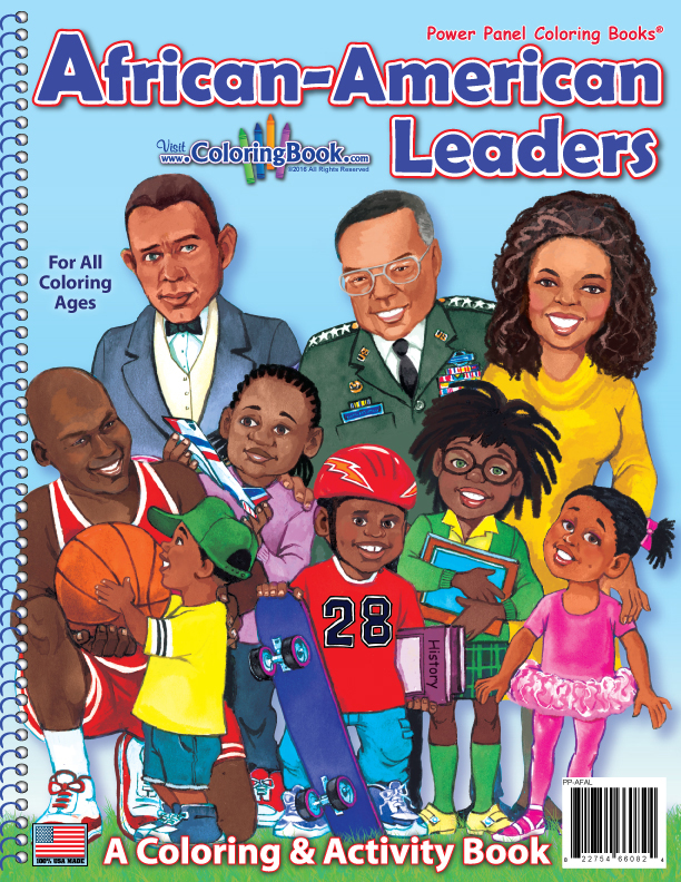 Coloring Books | African American Leaders Power Panel