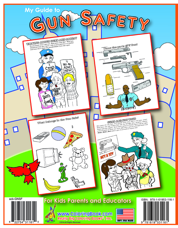 Coloring Books My Guide to Gun