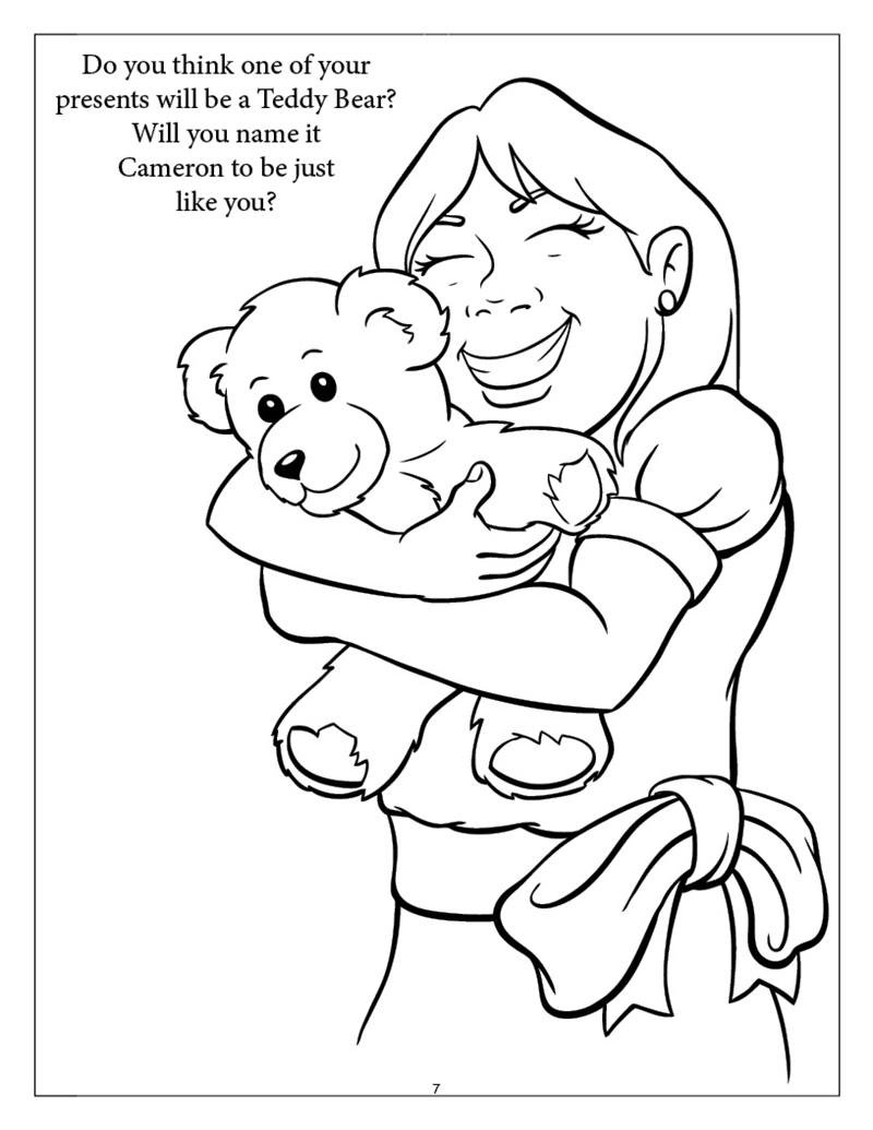 Coloring Books | Personalized Girl Birthday Coloring Book