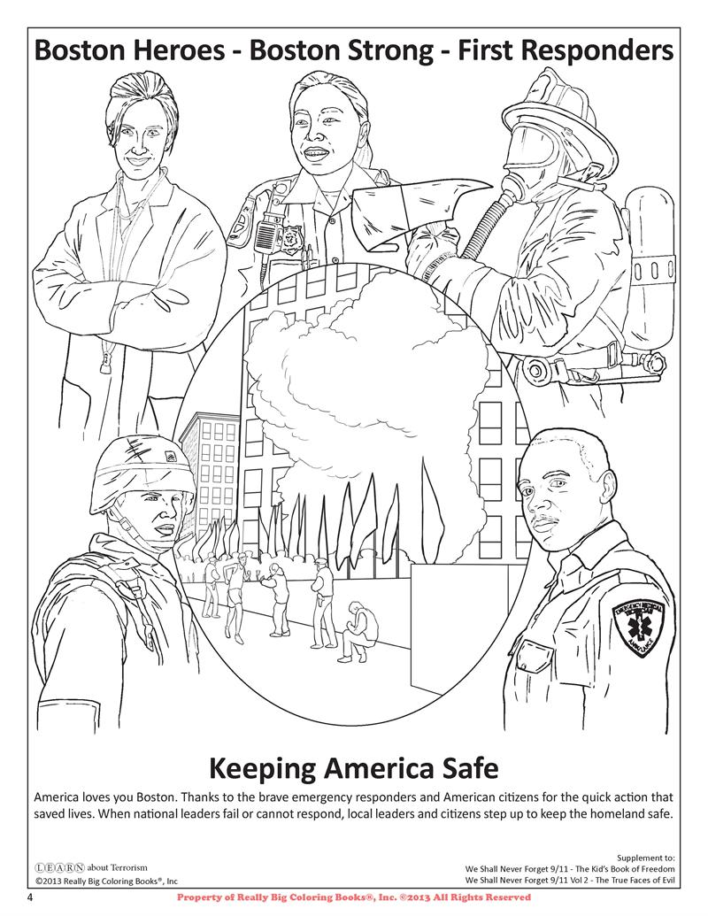 Coloring Book Tour Boston Coloring Page