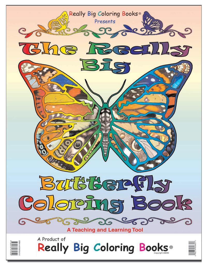 Coloring Books | Vintage The Really Big Butterfly Coloring Book