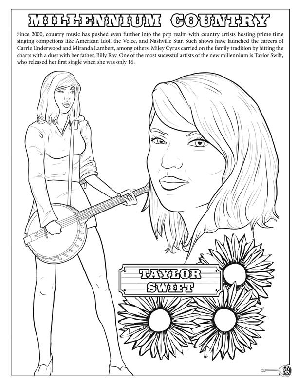 Coloring Books Country And Western Coloring And Activity Book With Music