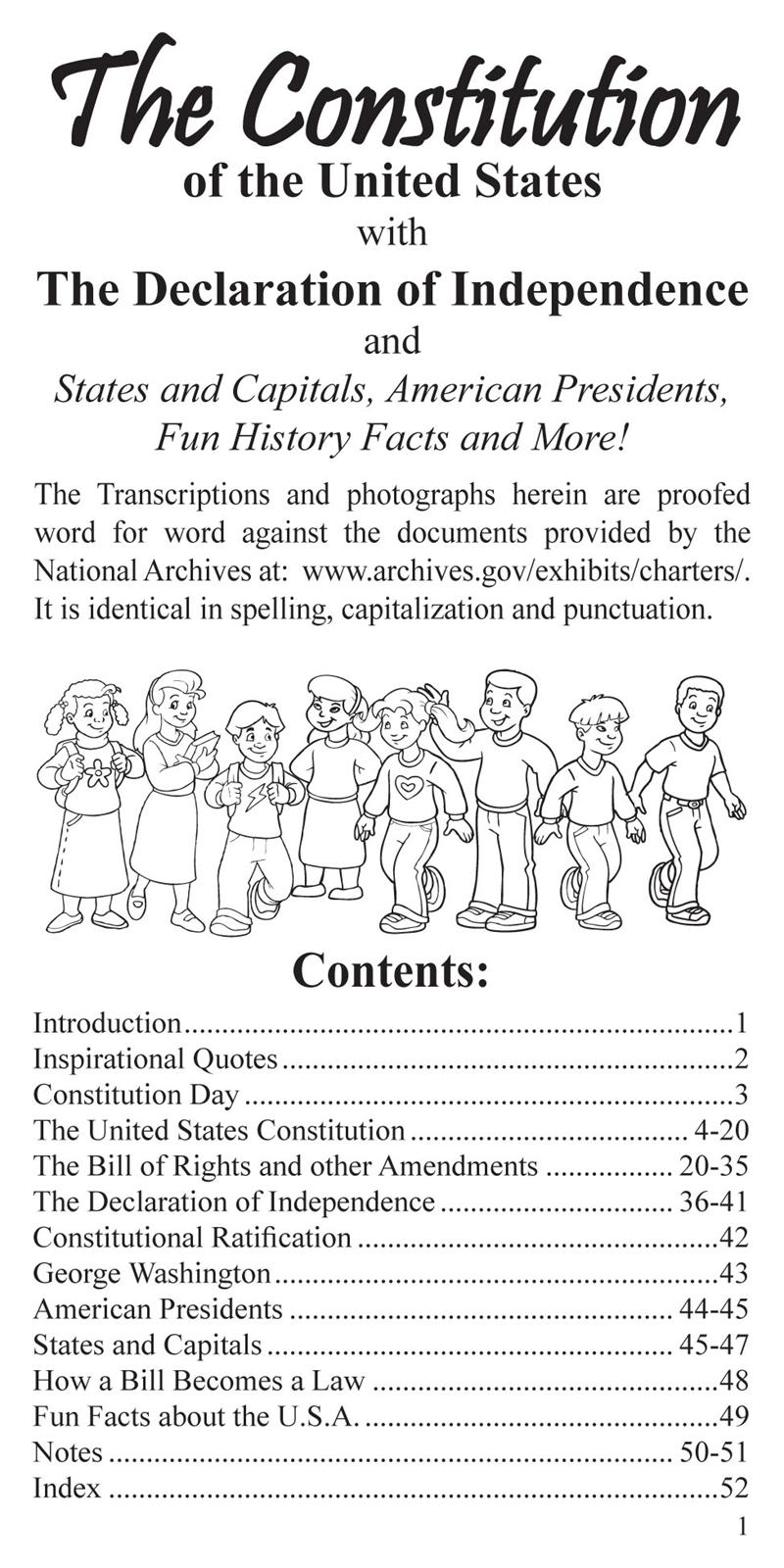 bill of rights coloring pages | Coloring Page