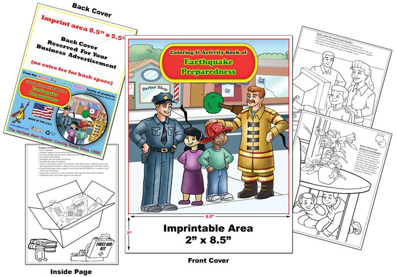 Coloring Books | Imprint Earthquake Prepardness Coloring Book