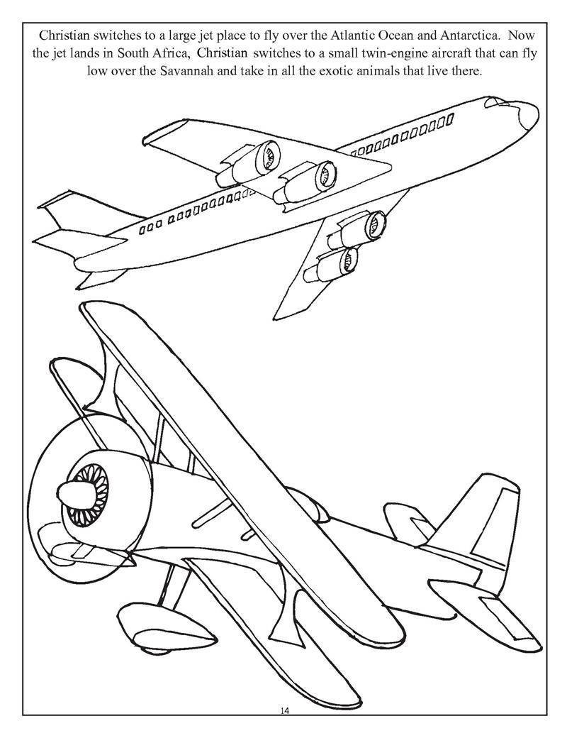 Personalized Get Going With Cars Planes And Trains Coloring Book