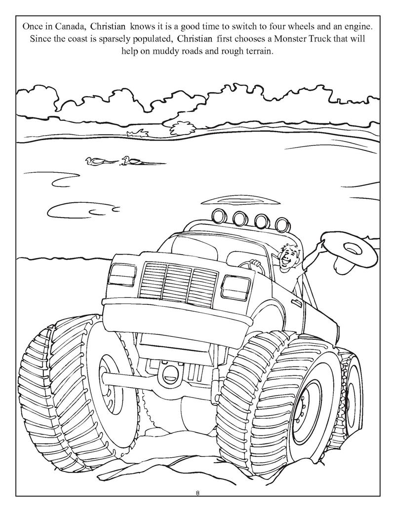 Coloring Books   Personalized Get Going with Cars, Planes and Trains ...