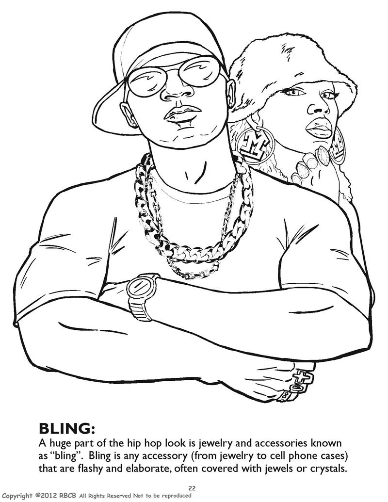 Coloring Books | Hip Hop Gangsta Rap Coloring Book