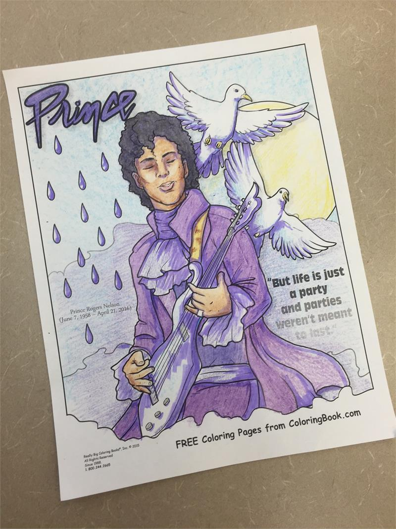 Coloring Books Prince Free Online