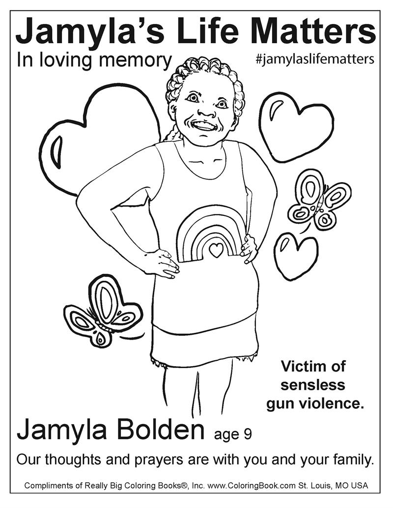 jamyla bolden free online coloring pages
