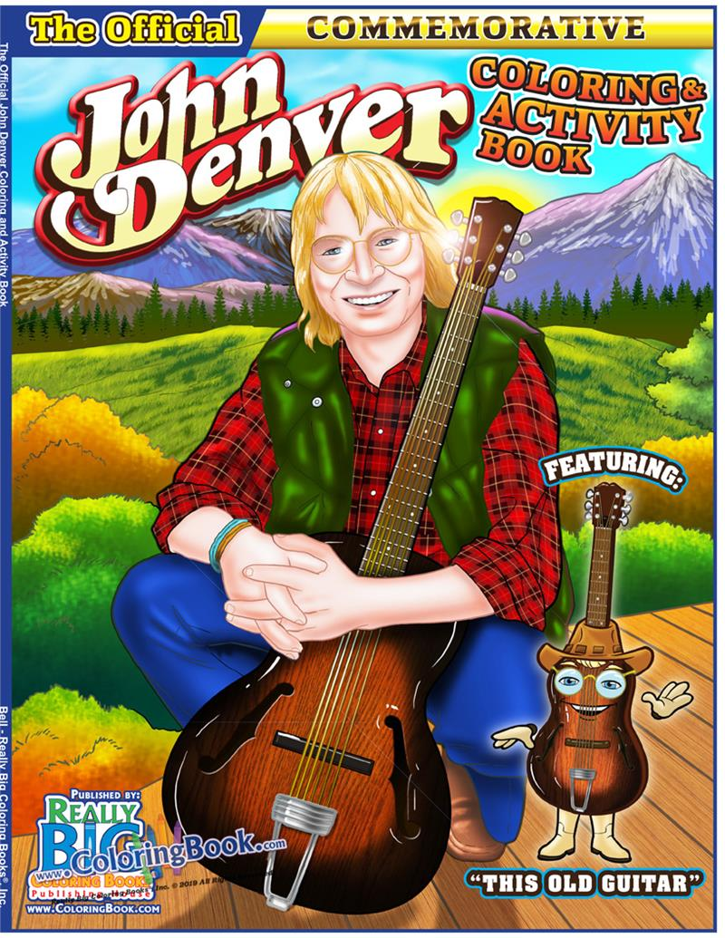 John Denver - This Old Guitar Coloring and ... - Coloring Books