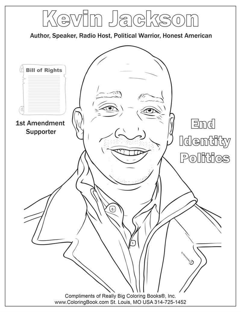 author coloring pages Coloring Books | Kevin Jackson Coloring Page author coloring pages