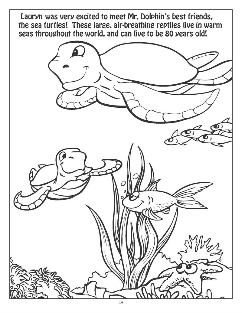 Coloring Books | Personalized Underwater Exploration ...