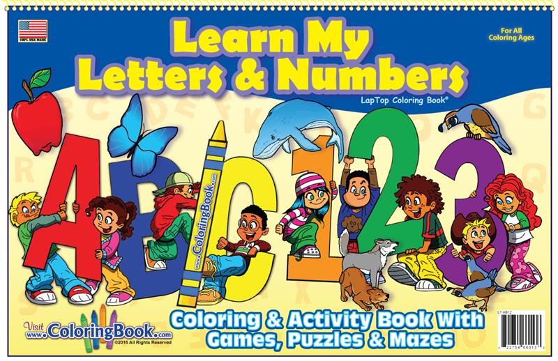 learning my letters coloring books abc 123 laptop 22725 | LearnMyLettersandNumbersLapTop