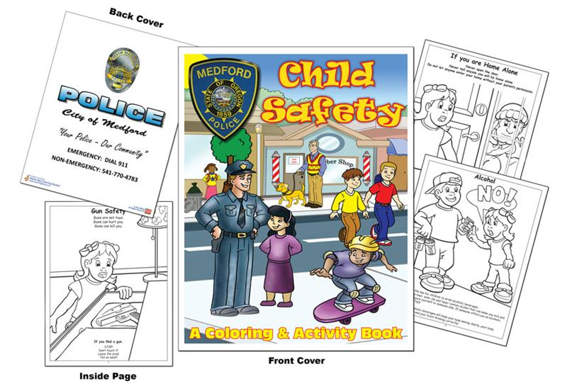 Coloring Books | Medford Police Department