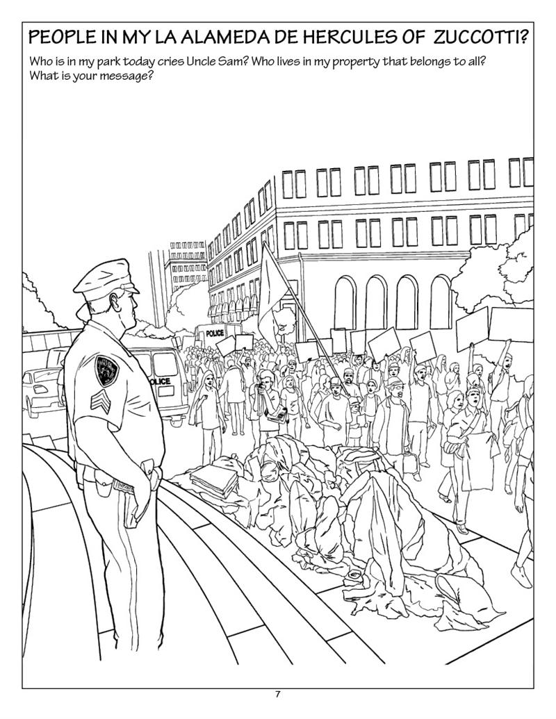 Coloring Books | Occupy Coloring Book Novel Adult Coloring Books