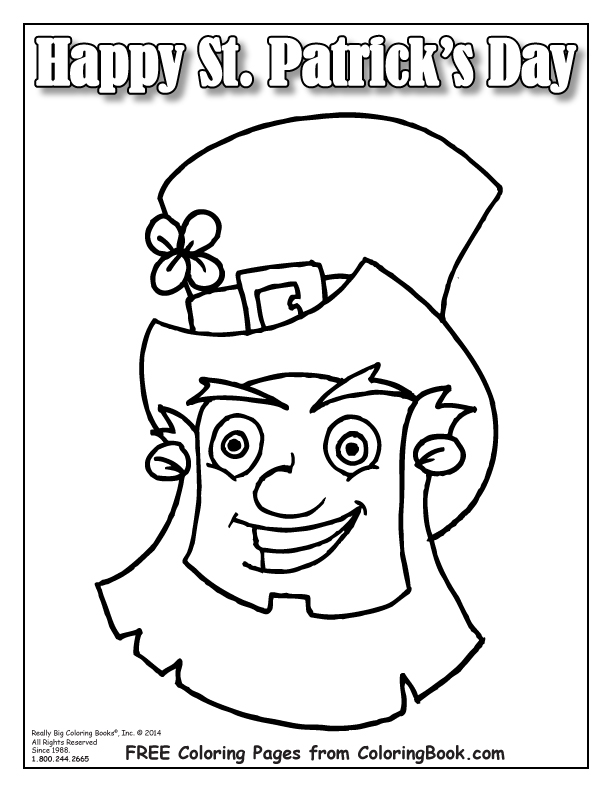 Coloring Pages Free Online Coloring Pages-St Patrick's Day