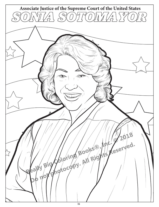 Coloring Books The U.S. Supreme Court Fun - Educational Coloring And  Activity Book