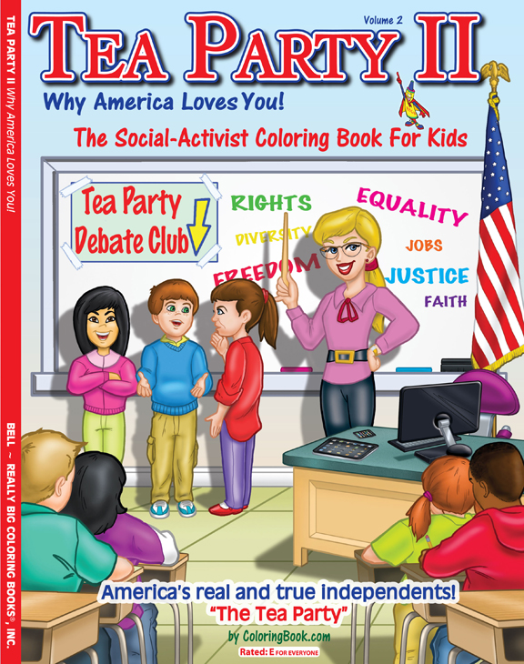 Tea Party II Coloring And Activity Book