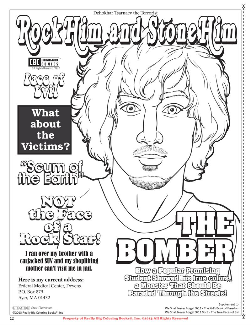 Coloring Books | CBC Coloring Book Comics Learn About Terrorism ...