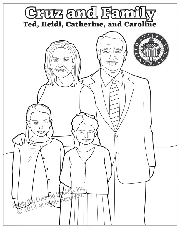Coloring Books | Texas Ted Cruz Awesome and Beautiful ...