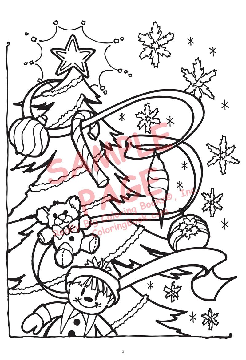 Holiday Time The Night Before Christmas Coloring Pages