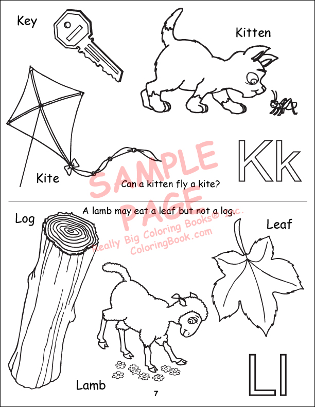abc 123 my alphabet book power panel coloring book - 123 Coloring Pages