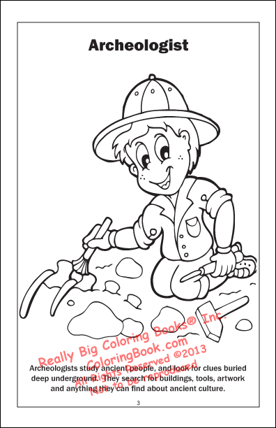 Coloring Books When I Grow Up Travel Tablet
