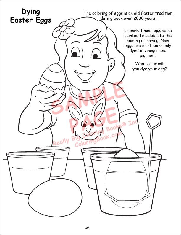 - Coloring Books The Real Story Of Easter Coloring Book