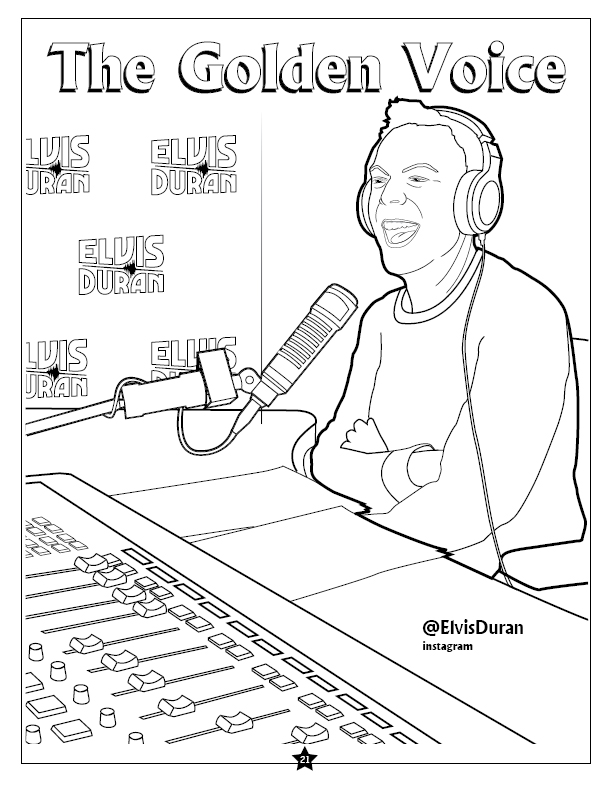 Coloring Books | Elvis Duran and the Morning Show Coloring