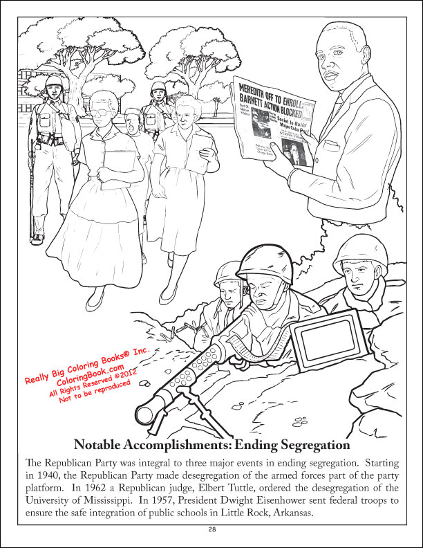 The Republican Party Grand Old Coloring And Activity Book
