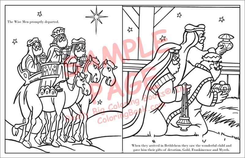 Coloring Books | The Real Story of Christmas LapTop