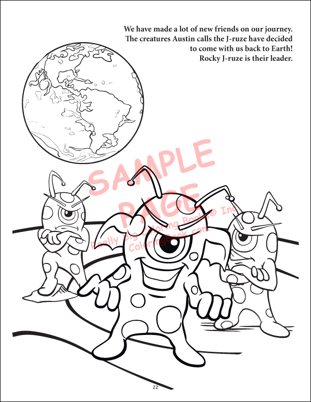 Coloring Books | Outer Space Coloring Book