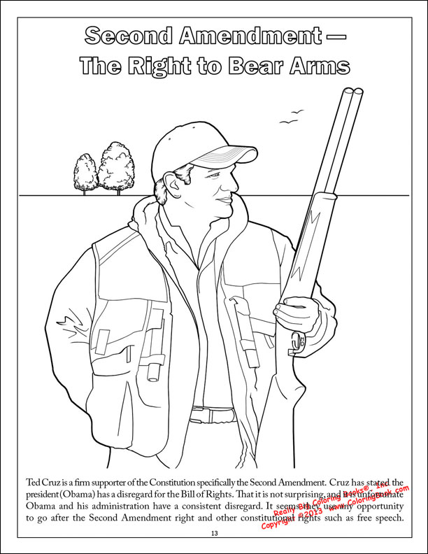 Coloring Books Ted Cruz To The Future Saves America Coloring Book