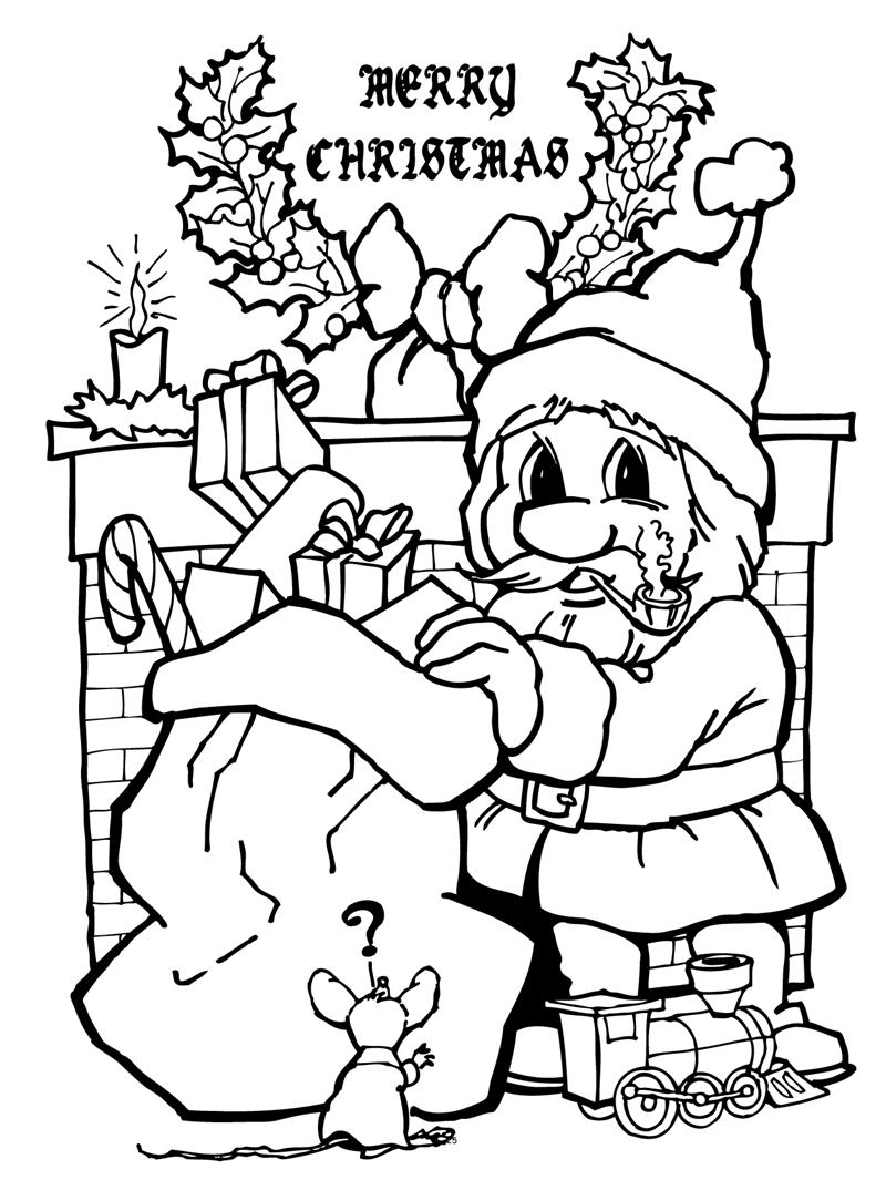 coloring books twas night before christmas really big coloring book