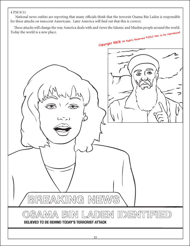 Coloring Books We Shall Never Forget 9 11 The Kids Book
