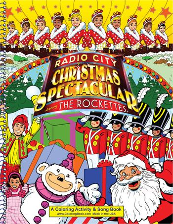 Radio City Christmas Spectacular Power Panel Coloring Book