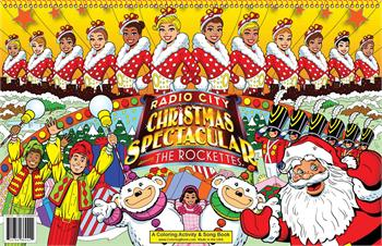 Radio City Christmas Spectacular starring the Rockettes! LapTop Coloring Book