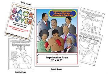 African American Leaders 2 - Imprintable Coloring & Activity Book
