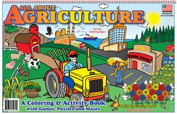 "All About Agriculture LapTop Coloring Books® (17"" wide x 11"" tall)"