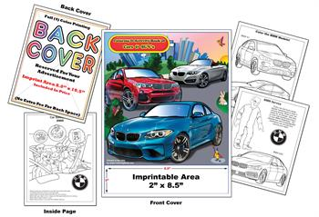 BMW Imprintable Coloring & Activity Book