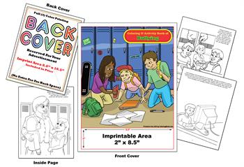 Bullying - Imprintable Coloring & Activity Book